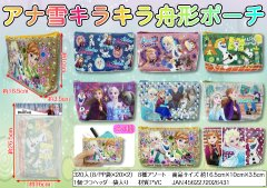 アナと雪の女王 キラキラ舟形ポーチ 【単価¥99】8入