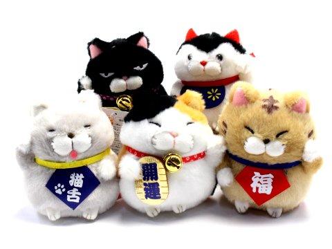 ひげまんじゅう招き猫令和LMC  【単価¥390】5入