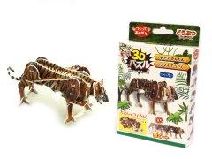 【お買い得】動く3Dパズル トラ 【単価¥56】24入