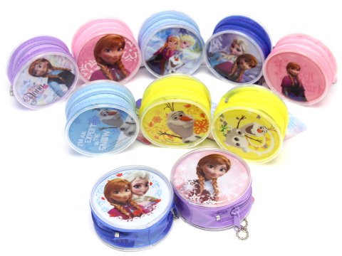【お買い得】アナと雪の女王 丸型コインポーチ 【単価¥25】20入