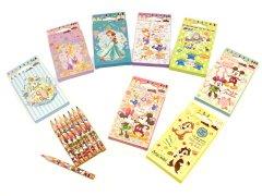 8色いろえんぴつ ディズニー 【単価¥29】25入