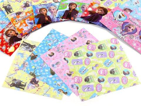 【お買い得】アナと雪の女王 折り紙15枚入り 【単価¥22】25入