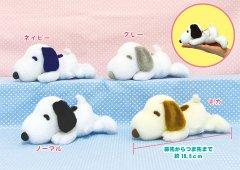 スヌーピー 寝そべりなかよしLMC 【単価¥388】4入
