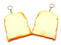 【お買い得】やわらかスクイーズ食パン白 【単価¥63】10入