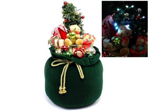 【お買い得】クリスマスツリーギフト60cm(Green) 【単価¥2072】1入