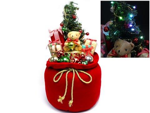 【お買い得】クリスマスツリーギフト60cm(Red) 【単価¥2072】1入