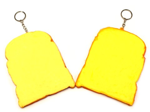 【お買い得】やわらかスクイーズ食パン バター 【単価¥63】12入