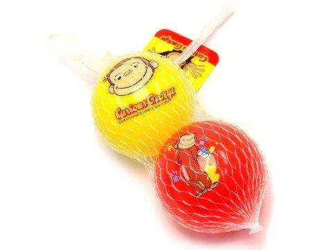 おさるのジョージ ぷにぷに3号ボール 【単価¥281】1入