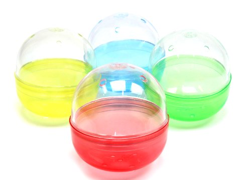 カプセル直径65ミリ 透明+カラー半透明No.11 【単価¥22】20入