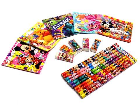 ディズニー折紙メモ4点文具セット 【単価¥29】25入