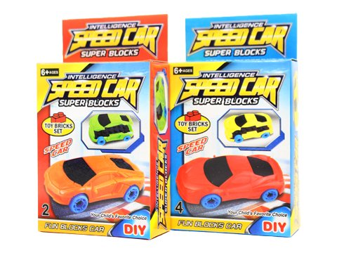 ブロックスーパーカー 【単価¥30】25入