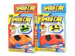 【お買い得】ブロックスーパーカー 【単価¥25】25入