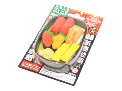 ブリスターパック消しゴム 寿司おけ 【単価¥197】10入