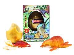【現品限り・お買い得】びっくり昆虫の金のたまご カブトムシ&クワガタ 【単価¥94】11入