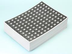 くじ紙黒1−110 【単価¥21】100入