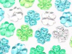 クラッシュアイス 四つ葉のクローバー グリーン系ミックス 506−793 【単価¥900】1入 か3