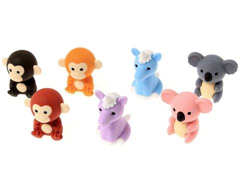 けしごむコレクション 森の動物 【単価¥28】60入