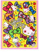 綿菓子袋(ロップ) (sa)キティカラフルリボン 【単価¥30】100入