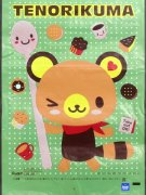 綿菓子袋(ロップ)(sa)てのりぐま 【単価¥30】100入