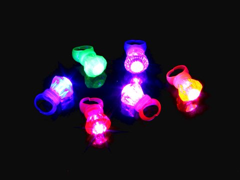 光るクリスタルリング 【単価¥20】36入