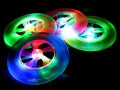 光るフライングディスク 【単価¥88】12入