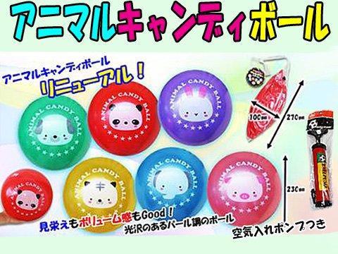 アニマルキャンディボール 【単価¥68】12入