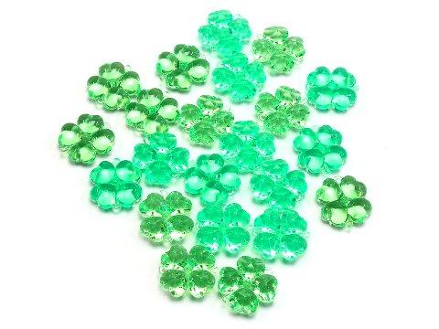 クラッシュアイス 四つ葉のクローバー グリーン 506−790 【単価¥900】1入
