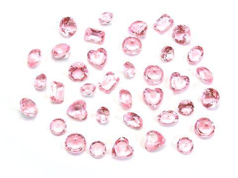 クラッシュアイス ダイヤカット ライトピンク 506−695 【単価¥900】1入 え16