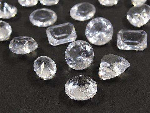 クラッシュアイス ダイヤカットクリア 506−691 【単価¥900】1入