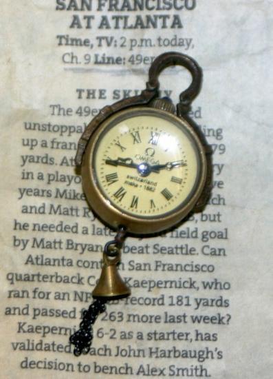 小さくてカワイイ球体時計
