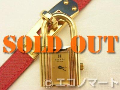 save off 975f9 5c61a エルメス ケリーウォッチ(赤) - チケット&リサイクル エコノマート | 中古・ブランド、時計、バッグの販売