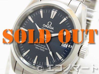 pretty nice c015e 1e23e OMEGA オメガ シーマスターアクアテラ コーアクシャル ボーイズ 2504.80 - ブランドリユース エコノマート |  中古・ブランド、時計、バッグの販売