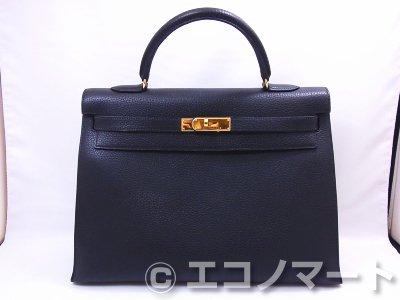 brand new 88569 8a71f HERMES エルメス ケリー35 外縫 - チケット&リサイクル エコノマート | 中古・ブランド、時計、バッグの販売