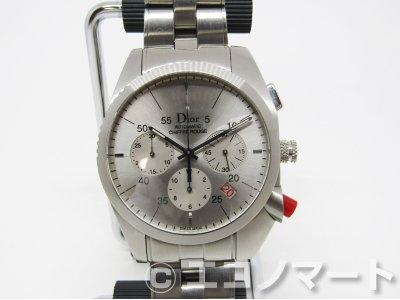 the latest 2da86 8b0e6 Dior ディオール オム シフル・ルージュ クロノグラフ  自動巻き CD084611M001 - ブランドリユース エコノマート    中古・ブランド、時計、バッグの販売