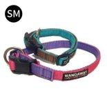 【WANDAWAY】小型犬用 丈夫で軽く水に強いPPクッション首輪♪ SMサイズ リードとお揃い