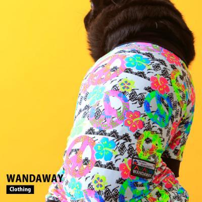 OUTLET★20%0FF★つるつるロンパース(ピース&サマー) WTL-PCSM 【WANDAWAY】