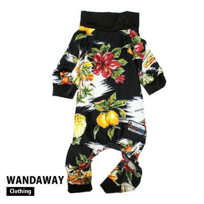 OUTLET★20%0FF★つるつるロンパース(アロハ)WTL-ALH【WANDAWAY】