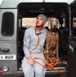Found My Animal - アジャスタブルリーシュ(オレンジ) Orange Rescue Dog Leash, Adjustable ファウンド マイ アニマル