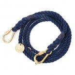 Found My Animal - アジャスタブルリーシュ(ネイビー) Navy Rope Dog Leash, Adjustable  ファウンド マイ アニマル