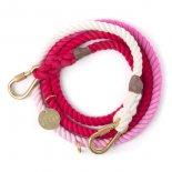 Found My Animal - アジャスタブルリーシュ(マゼンタ) Magenta Ombre Rope Leash, Adjustable  ファウンド マイ アニマル