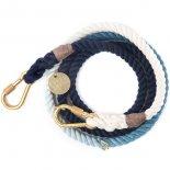 Found My Animal - アジャスタブルリーシュ(インディゴ) Indigo Ombre Rope Leash, Adjustable  ファウンド マイ アニマル