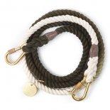 Found My Animal - アジャスタブルリーシュ(オリーブ) Olive Ombre Rope Leash, Adjustable  ファウンド マイ アニマル