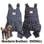 【Mandarin Brothers】OVERALL オーバーオール