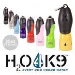 ペット用ステンレス水筒 H204K9 Lサイズ(750ml) 大 8カラー いつでも新鮮なお水をワンちゃんに♪