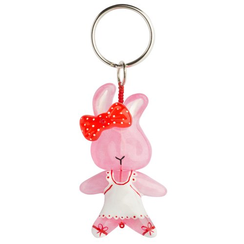 Keyring Pink Rabbit
