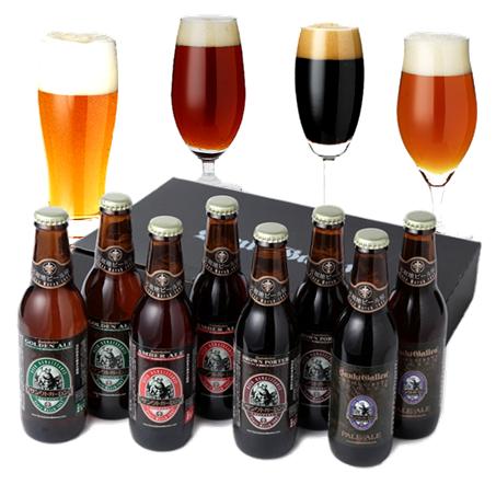 金賞地ビール(クラフトビール)飲み比べ 4種8本 詰め合わせギフト 【送料無料】【迅速配送】