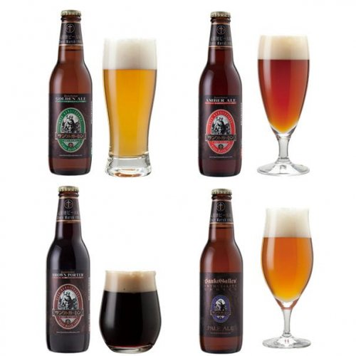 金賞地ビール(クラフトビール)飲み比べ 4種4本 詰め合わせギフト 【送料無料】【迅速配送】