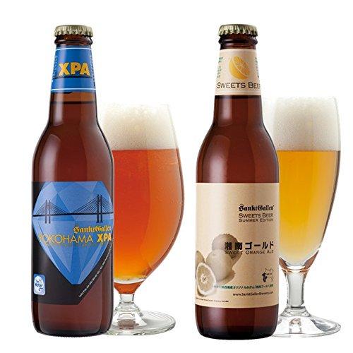 【神奈川名産ビール2種4本セット】\オレンジ20%増量/湘南ゴールド&YOKOHAMA XPA<送料込>