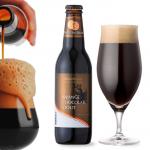 【オレンジチョコレートスタウト】 オレンジチョコ風味の濃厚黒ビール