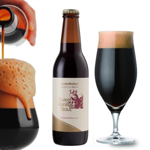 チョコビール【スイートバニラスタウト】 後味がバニラチョコの濃厚黒ビール <送料込>